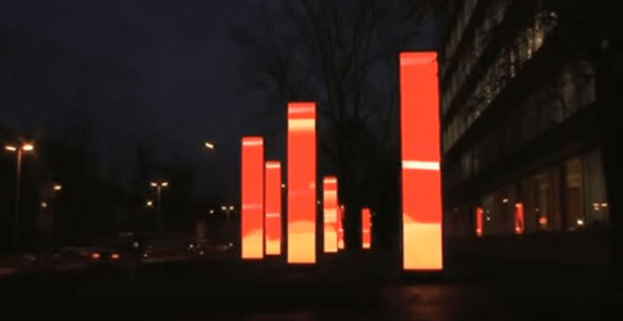 illuminated artwork