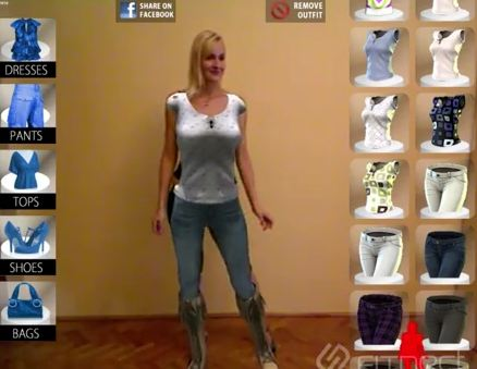 Augmented Reality Fitting room