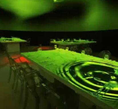 cinematic dinner concept