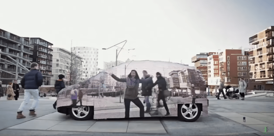 Invisible LED Car