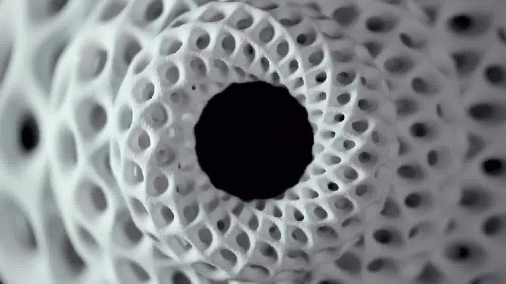 3D printed Fibonacci sculptures