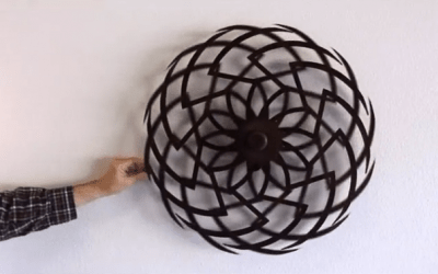 Optical illusion sculptures