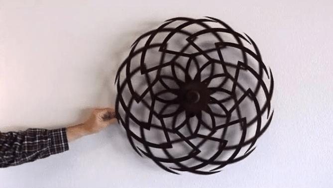 Optical illusion sculptures
