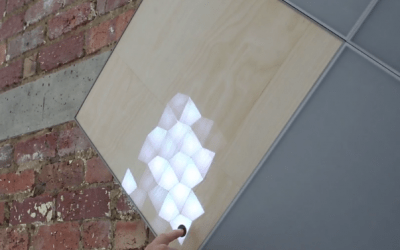 Illuminated wood