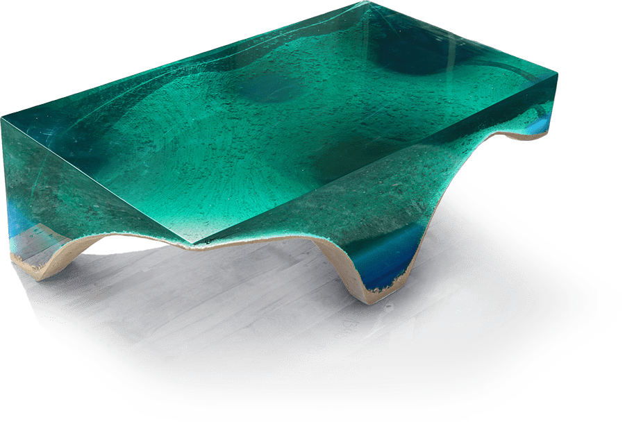 Acryllic Concrete table