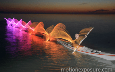Mesmerizing LED art in motion