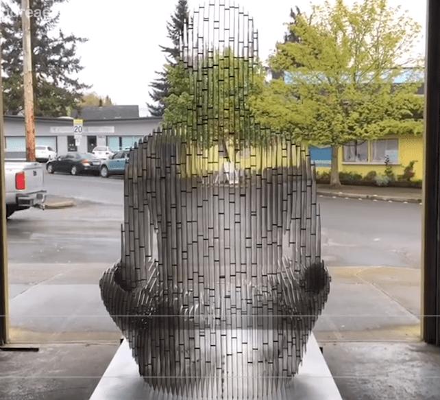 Dissappearing sculptures