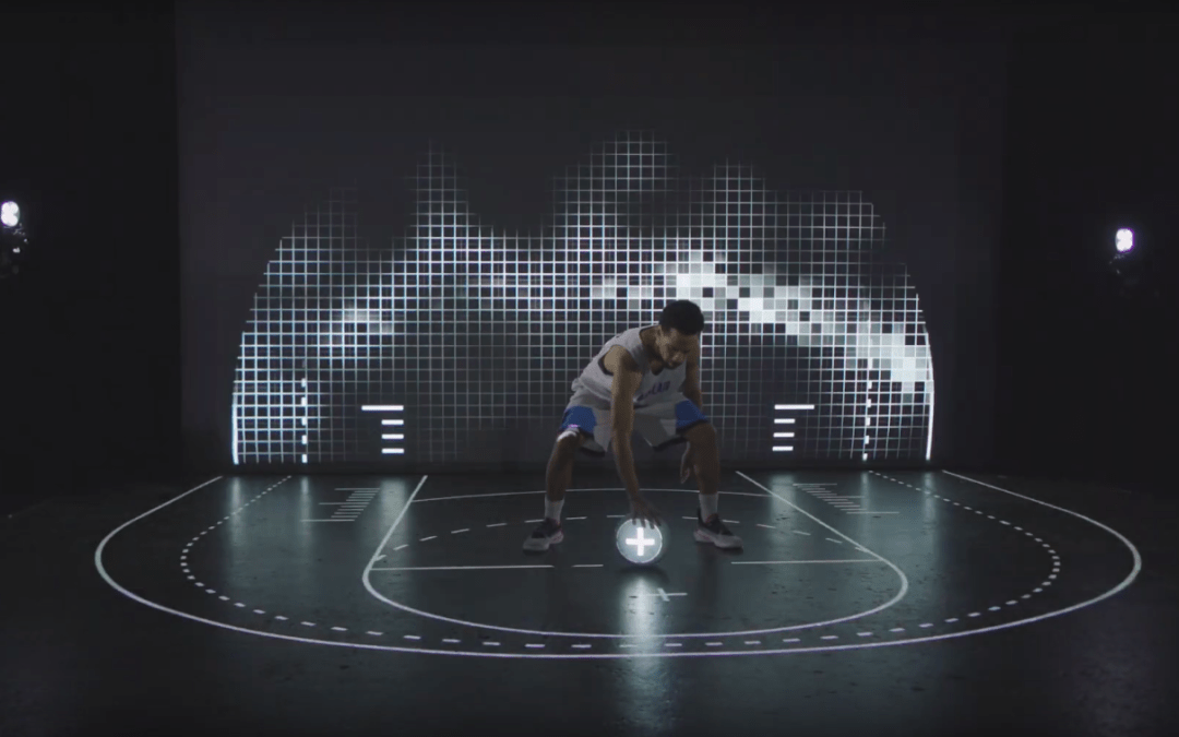 Interactive Basketball court