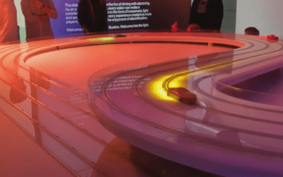 Illuminated race game