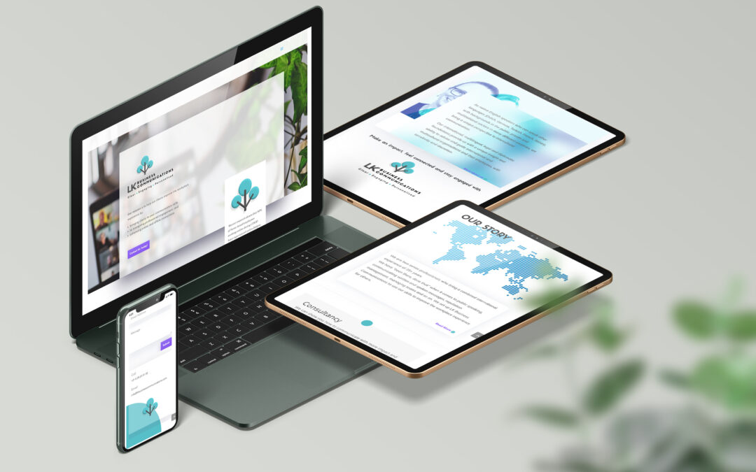 Website for Business Communication Consultancy
